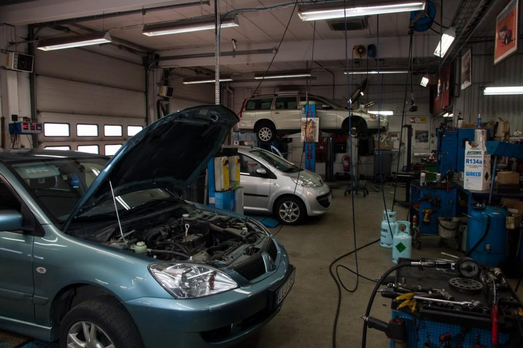 Verskstad - Service och reparation av Mitsubishi